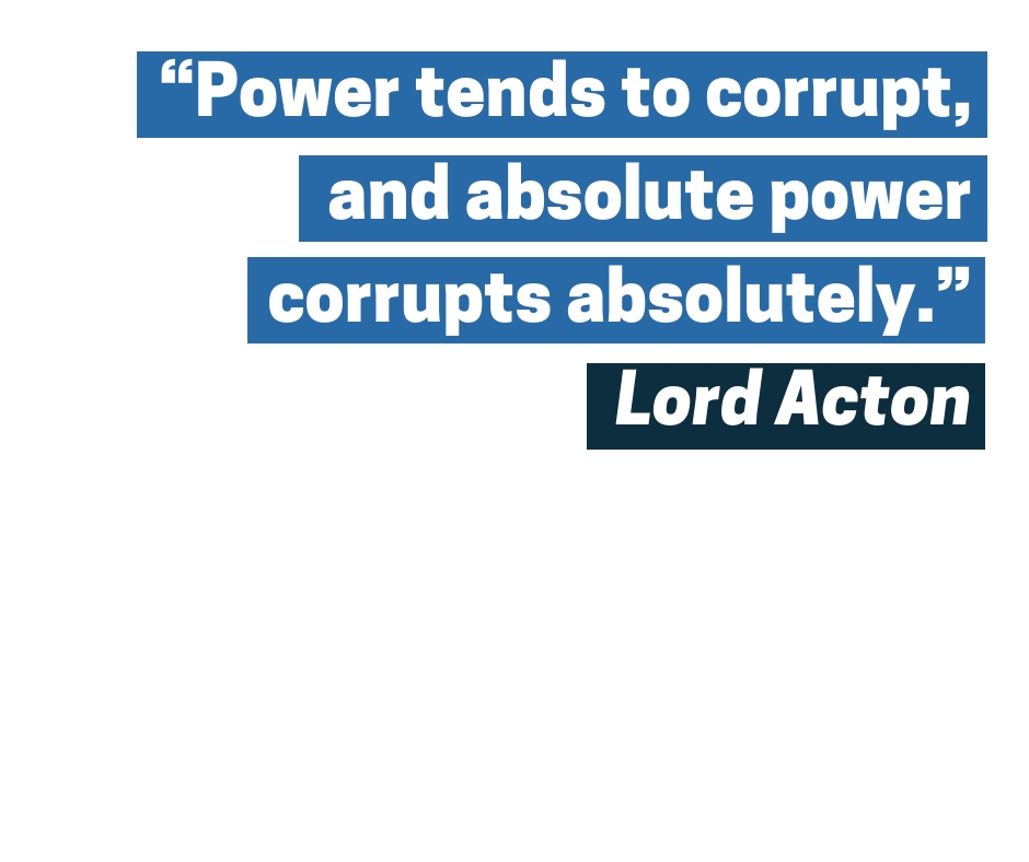 Lord Acton quote